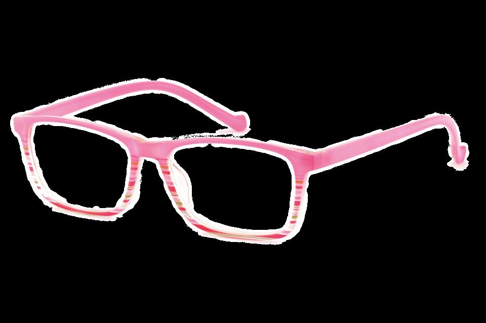 Occhiale Summer rosa trasp.